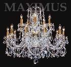 Crystal chandelier 4047 15HK-516/1ZS