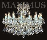 Crystal chandelier 4050 16/12HK-505/1SW
